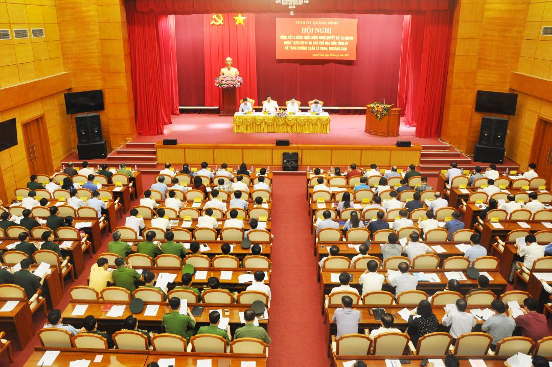 Tỉnh ủy Quảng Ninh tổng kết Nghị quyết 12-NQ/TU của BCH Đảng bộ tỉnh.