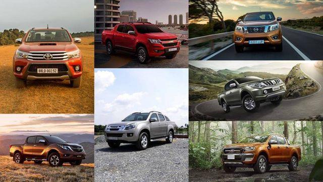 Kể từ 10/4, xe bán tải chính thức áp dụng mức thu lệ phí trước bạ mới bằng 60% so với xe con