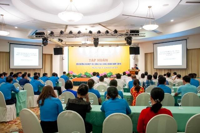Công đoàn Công ty Than Thống Nhất tổ chức Lớp tập huấn, bồi dưỡng nghiệp vụ công tác Công đoàn năm 2019