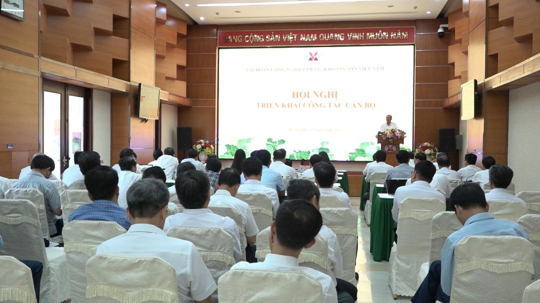 Hội nghị triển khai công tác cán bộ Tập đoàn TKV