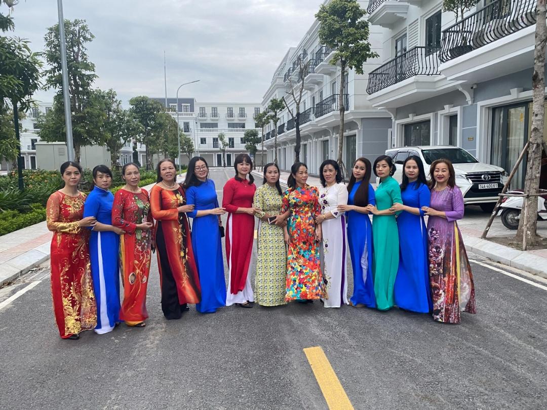 Nữ công Phân xưởng VTL2 hưởng ứng tôn vinh áo dài – di sản Văn hóa  Việt Nam