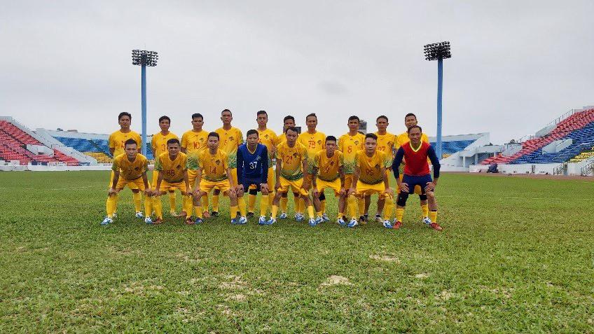 Than Thống Nhất luyện tập chuẩn bị cho giải bóng đá phong trào TKV năm 2020