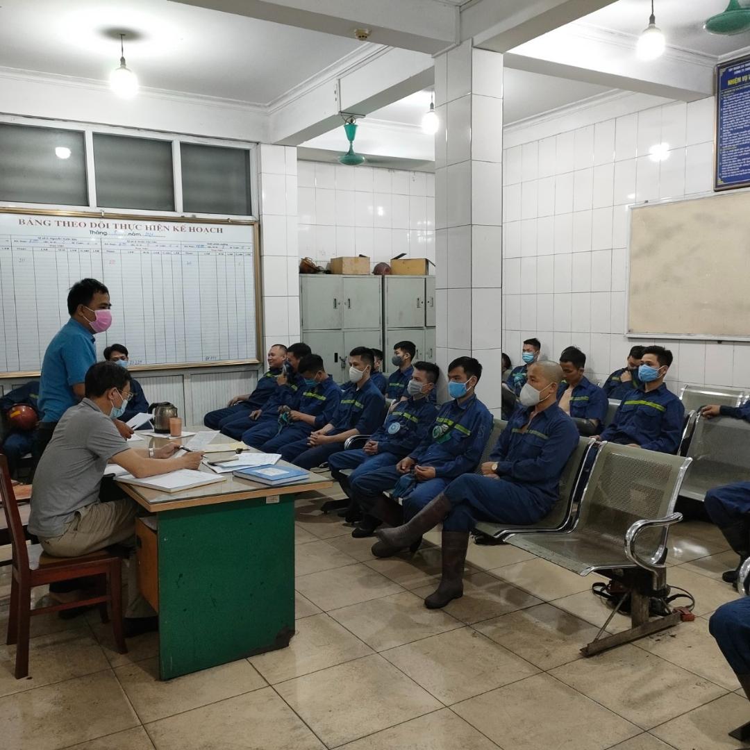 Phân xưởng Khai thác 7 phát động hưởng ứng Tháng Công nhân, Tháng hành động về AT-VSLĐ năm 2021