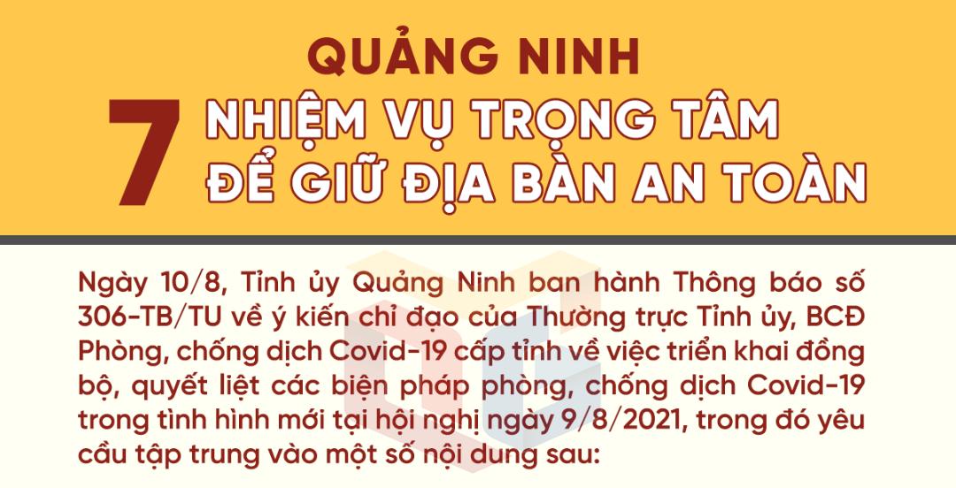 Quảng Ninh: 7 nhiệm vụ trọng tâm để giữ địa bàn an toàn